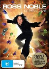 Ross Noble - Unrealtime (DVD 2-Disc Set) Region 4 Very Good Condition