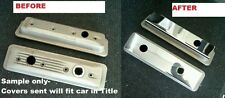 Corvette C4 1987-1991 L98 Stainless VALVE COVER COVERS engine chrome