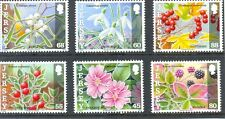 Jersey Winter Frosts & Berries new issue 2013 mnh set of 6