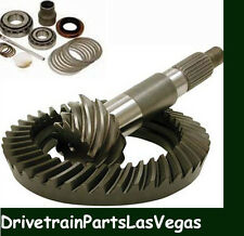 "Motive Blue OEM GM 8.5"" 3.73 Ratio Ring & Pinion Gear Set + Install Kit 1970-99"