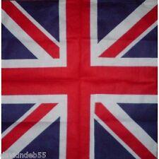 UNITED KINGDOM FLAG BANDANA UK Union Jack Britain Scarve Scarf Head Skull Wrap