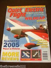 QUIET & ELECTRIC FLIGHT INTERNATIONAL - WILDCAP - APRIL 2005