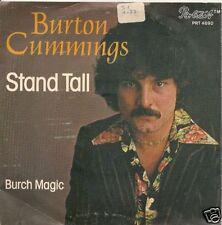 45 TOURS--BURTON CUMMINGS--STAND HALL--1976