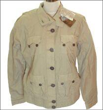 BNWT Women's Authentic Oakley fouille Veste Militaire Manteau Taille UK14