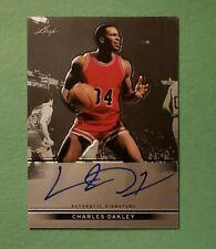 2012-13 Leaf Metal, Charles Oakley, Chicago Bulls, Auto Autograph