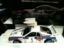 KYOSHO 1 18 LANCIA 037 MARTINI BETTEGA WINNER MONZA 1984 VERY RARE