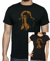 Ladies fitted + Mens Unisex LABYRINTH Jareth Goblin King David Bowie T-shirt