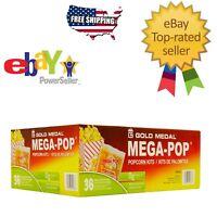 Gold Medal Mega Pop Popcorn Kit (6 oz. kit 36 ct.) Snack Food Fast Free Shipping