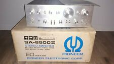 Pioneer SA-8500 II Integrated Stereo Amplifier ~ IN BOX