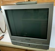 "20"" Magnavox Flat CRT Tube TV/DVD w/ Remote (Working 100%) MSD520FF Retro Game"