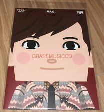 TVXQ! WHY SMTOWN COEX Artium SUM OFFICIAL GOODS MAX PAPER TOY + PHOTOCARD NEW