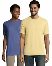 Hanes Adult Short Sleeve Tee T Shirt ComfortWash Garment Dyed Ring Spun Cotton