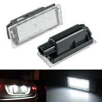 Fit Renault Twingo 2 Clio 3 4 Megane CC 2 3 06-19 LED License Number Plate Light