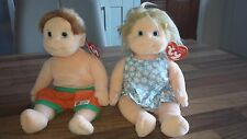 TY Beanie Kids Angel & Buzz-Carino Peluche Collectables