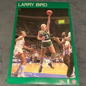 LARRY BIRD BOSTON CELTICS 1984 Original Starline Poster 22x34 Vtg 80's VERY RARE
