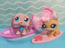 Littlest Pet Shop Figuren Set Bundle #649 Katze #1306 Hund Zubehör LPS