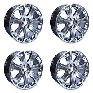 """Set of 4 22"""" Wheels for 2014-2020 Chevrolet Silverado GMC Yukon OEM Quality 5660"""