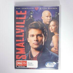 Smallville Season 6 DVD TV Series Free Postage Region 4 AUS - Superman DC Hero