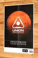 Doom Union Aerospace Very Rare Small Poster 42x30cm