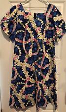 Royal Hawaii creations True Hawaiian Mumu Dress Pls Size 2X Chest 48