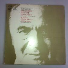 LP-Beethoven 5 Columbia-Schubert 8 New York-Bruno Walter Columbia y 30314