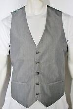 Calvin Klein high end suit men's vest new color silver gray
