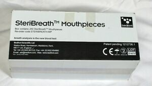SteriBreath Mouthpieces Opened box. 230 units