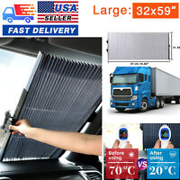 Retractable Car SUV Truck Windshield Sun Shade UV Baby Protection Curtain Visor