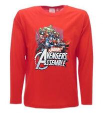 T-shirt Originale AVENGERS Insieme  Marvel Novità 2015 Maniche Lunghe Maglia