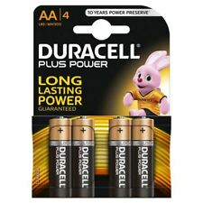 Duracell MN1500-B4 Plus Power AA Size 4 Batteries a pack - Pack of 20