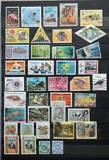 Malaysia Stamps on 1 page