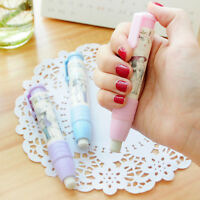 Fashion Students Pen Shape Eraser Rubber Stationery Kid Gift Toy Cute VH