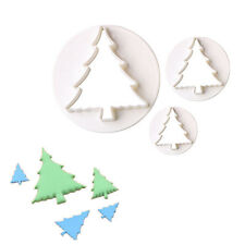 22x Christmas Fondant Cake Plunger Cutter Set Snowman Elk Sled Cookie Decor MW