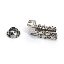 Locomotive RAILWAY MAN LAPEL PIN HAT BADGE TRAIN ENGINE DRIVER Birthday Present
