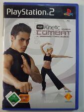 PLAYSTATION PS2 JEU Eye toy eyetoy Kinetic Combat, utilisé mais BIEN