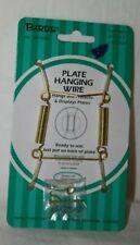 "Plate Hanger 3 1/2""-5"" 8-13 cm Brass #48-0010"