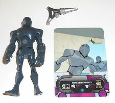 "2010 Ben 10 Ultimate Alien ~ FOREVER KNIGHTS + Scheda di ~ 4"" Action Figure (B50)"