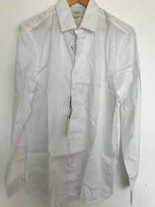 """Paul Smith Gents Casual Shirt in Fine Stripe Size 15"""" -17.5"""" - RRP £280"""