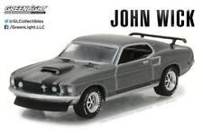 A.S.S NEU GreenLight 1/64 1969 Ford Mustang Boss 429 John Wick 2018 Hollywood