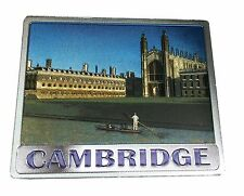 Cambridge Kings Collage Punting Foil Stamped Fridge souvenir memory of Cambridge