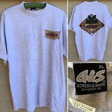 Vintage G & S Gordon & Smith San Diego, CA T-Shirt G & S Surfboards Made In USA