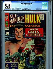 TalesTo Astonish 74 CGC 5.5 1965 Marvel Comic Submariner Hulk Kirby Amricons K5