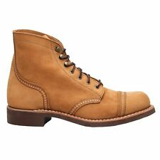 Red Wing Iron Ranger 3367 Honey Womens Nubuck Lace Up Boots
