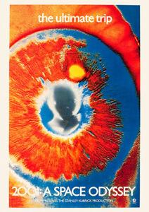 2001:A SPACE ODYSSEY (1969) Promotion - Movie Cinema Poster Film Art Print