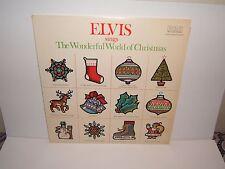 ELVIS SINGS THE WONDERFUL WORLD OF CHRISTMAS LSP-4579  LP ALBUM