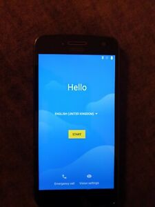 Motorola Moto G 5 Plus, 32gb, Unlocked, Lunar Grey.