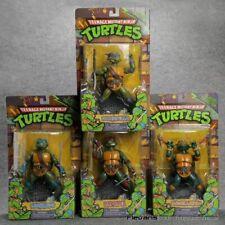 1988 Playmates TMNT Teenage Mutant Ninja Turtles Leonardo Action Figure set of 4