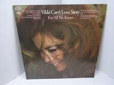 Vikki Carr's Love Story Featuring For All We Know Vinyl