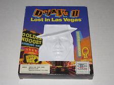 Deja Vu II: Lost in Las Vegas  (Amiga, 1989) Rare, Vintage Mindscape Game