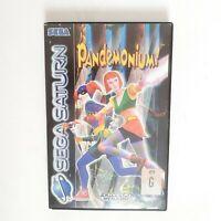 Pandemonium! Sega Saturn PAL + Manual - Free Postage